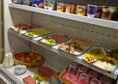 Steeds gekoeld ontbijtbuffet in hotel vivaldi te Westerlo